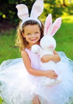 Tutu Bunny Costume/Easter Outfit