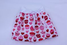A personal favourite from my Etsy shop https://www.etsy.com/listing/520345564/pink-cupcakes-balloon-skirt-for-girls