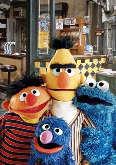 Millions of People Happy Sesame Street Muppets, Sesame Street Characters, Bert & Ernie, Fraggle Rock, The Muppet Show, Kermit The Frog, Jim Henson, Kids Tv, 40th Anniversary