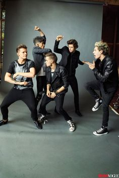 One Direction Covers Teen Vogue September Issue