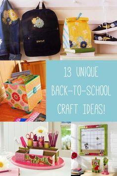 13 Mod Podge DIY Back to School Projects | eBay
