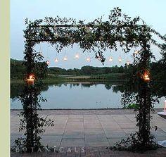 lakeside wedding ceremony...option if on patio of lodge