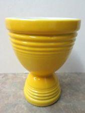 Vintage Hankscraft Yellow Double Egg Cup - Fiesta Go-Along