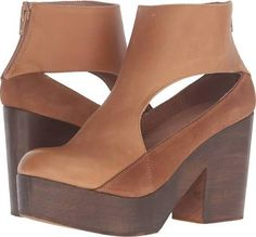 taupe round toe ankle cutout