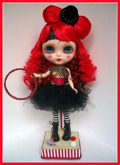#blythe circus! Love the red hair.