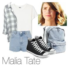 """""""Malia Tate"""" by strongwolf19 ❤ liked on Polyvore"""