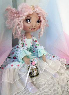 Купить Принцесса - мятный, принцесса, принцессы, подарок девочке, девочкам, кукла ручной работы