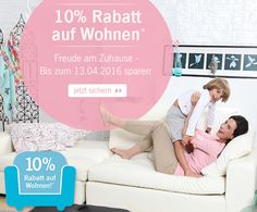 Sichert Euch mit dem Code 12800 Eure 10% Rabatt auf Wohnen und bestellt #Möbel #günstig nach Hause!