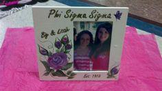 Phi sigma sigma big and little frame
