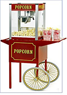 Popcorn Machine At A Wedding Sounds Delicious Reserve