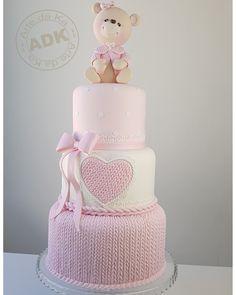 Baby shower cake - bolo chá de bebê