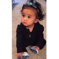 Chris Browns Daughter Royalty. She's Adorable!