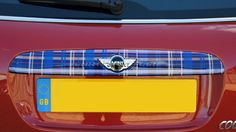 MINI Rear Bootlid Cover (F56/F55) - Choice of Colours & Styles