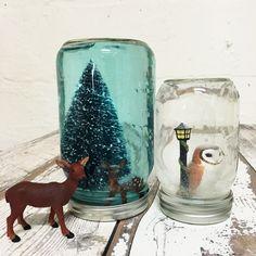 DIY Snow Globe | Studio T Blog | Tea Collection