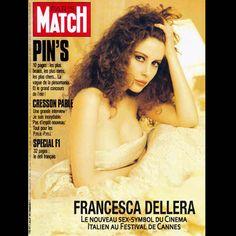 """Francesca Dellera su Twitter: """"La prestigiosa rivista Paris Match dedica la copertina alla bellissima Francesca Dellera @f_dellera #francescadellera #moda #beauty #girl https://t.co/agrwjbvGMl"""""""