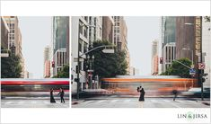 A Gorgeous Downtown Los Angeles Engagement | Kiran and Sumir