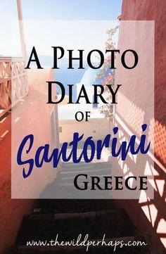 Santorini, Greece #greecetravel