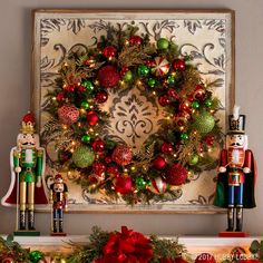 If you're going for nostalgic Noel, you can't go wrong with a vibrant mixture of classic Christmas colors! And if you really want to up the festive factor, throw in some cheerful nutcrackers!