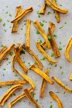 Sweet Potato jerky Fries With Turmeric