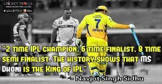 MS Dhoni is the King of IPL : Sidhu Cricket Trolls #Cricket #IPL #MSDhoni Circle of Cricket - MS Dhoni http://www.crickettrolls.com/2016/04/06/ms-dhoni-is-the-king-of-ipl-sidhu/