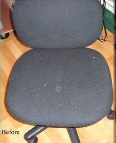 Ever wish your computer chair was more you, without paying more for it? Recovering a chair has to be the easiest furniture re...