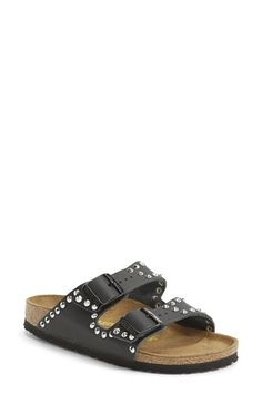 My 1st pair of Birks, I love em! | Birkenstock 'Arizona' Studded Leather Sandal (Women) available at #Nordstrom