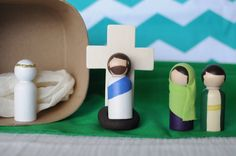 Easter Story Playset by discoverthestory on Etsy