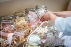 Sweetie jars! Such a great idea for a wedding | Louise Wedding Photography | London wedding photographer | Pembroke Lodge, Richmond Park