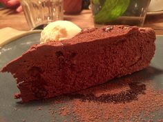chocolate torte at August 21 in Morningside.