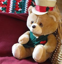 Mr. Dickens Christmas Bear