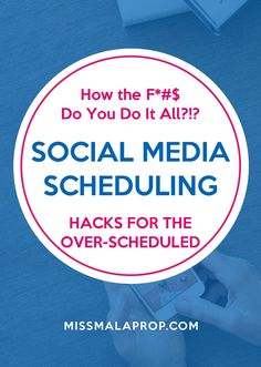 Social Media Scheduling Hacks for the Over-Scheduled // Find out the best tools for scheduling social media posts and how to batch tasks like social media scheduling to make your life easier. Business Marketing, Business Tips, Online Marketing, Social Media Marketing, Online Business, Marketing Ideas, Marketing Strategies, Digital Marketing, Social Media Content