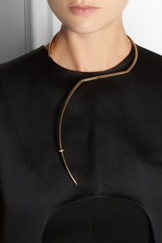 Esteban Cortazar|by Alican Icoz gold-plated necklace|NET-A-PORTER.COM