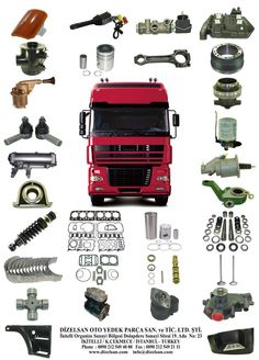 High Quality Turkish Made Spare Parts For Daf Trucks Manufacturer, Supplier & Exporter - ECPlaza