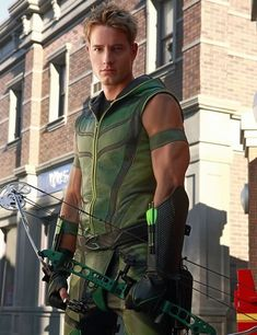 Justin Hartley Smallville's Green Arrow.I loved him in Smallville.Please check out my website thanks. www.photopix.co.nz