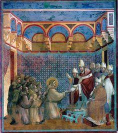 Giotto - Approvazione della regola di San Francesco   Flickr - Photo Sharing!