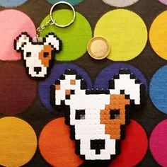 Instagram photo by La Eire Gata (Irene Garcia) (@laeiregata) 24/02/2015 HamAnimals! Imán de nevera y llavero personalizado Jack Russell Terrier. www.facebook.com/mascotartcuadros