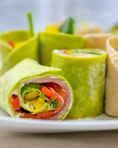 Yes you can eat light during the Super Bowl. These wraps skip the grease, but double down on flavor. Recipe and photos by Rose McAvoy.