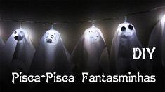 DIY: Pisca-Pisca de Fantasminhas Divertidos (Ghost Lights for Halloween ...