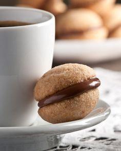 Gluten-free Hazelnut Cookies from Beth Dunham + 50 Gluten-Free Christmas Cookies | www.theroastedroot.net #glutenfree