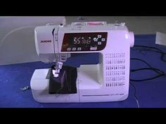 ▶ Janome XL601 DXL603 QXL605 Sewing Machine Review (Part-2) - YouTube