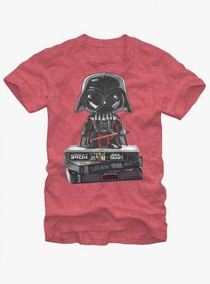 Star Wars Darth Vader VHS T-Shirt