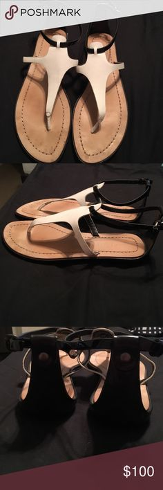 Elie Tahari Sandals Elie Tahari Belle shoe. Worn only a couple of times but there are some marks that your feet will cover once in them. Perfect for summer! Comes with original box Elie Tahari Shoes Sandals