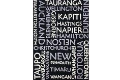 New Zealand Cities White/Grey/Black Floor Rug New Zealand Cities, Black Floor, Floor Rugs, New Homes, Coding, Flooring, City, Design