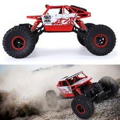 HB RC Cars Scale Rock Radio Control Crawler Solid Frame 4 Wheel Drive Off-road Race Trunk Cars - Kid Shop Global - Kids & Baby Shop Online - baby & kids clothing, toys for baby & kid Remote Control Cars, Radio Control, Radios, Carros Rc, Offroad, Rock Radio, Shops, Baby Shop Online, Car Prices