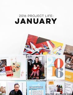In a Creative Bubble: 2016 Project Life // January