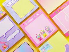 Korean Stationery, Stationery Store, Cute Stationery, Planner Stickers, Diy Planner, Instax Mini Album, Note Memo, Kawaii, Cute School Supplies