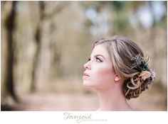 Lovely bride at styled inspiration shoot