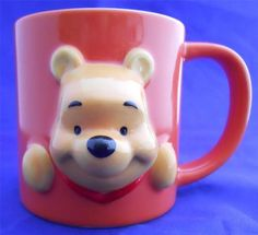3D Tokyo Disneyland Winnie The Pooh Souvenir Coffee Mug Disney