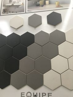 Matt grey shower tile sheet Gray Shower Tile, Tile Floor, Flooring, Contemporary, Rugs, Bathroom, Grey, Crafts, Home Decor