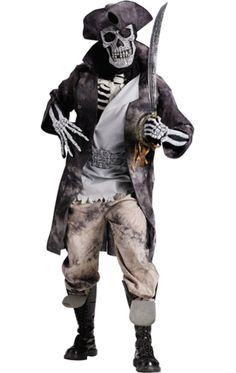 Ghostly Pirate Costume